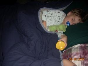 sleeping big
