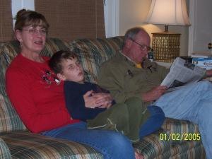 big and grandparents christmas 2012
