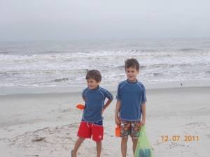 boys at beach 12.7.12