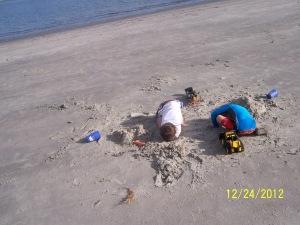 boys beach 12.24.12