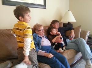 aunt candy visit