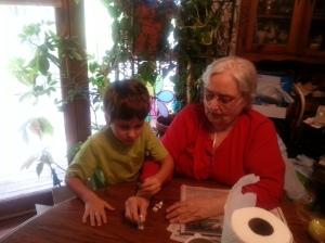 little and grandma