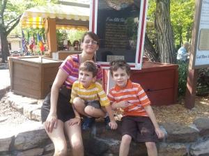 mom and boys SDC