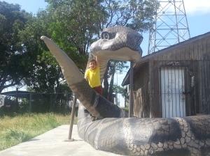 big and snake