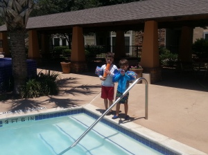 boys at pool 3
