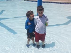 boys at teh pool may 13