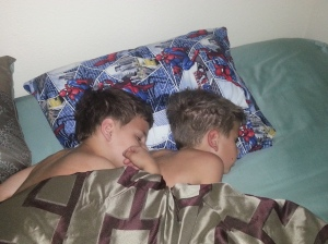 brothers sleeping 6.13