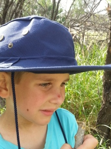 little in hat