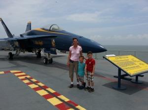 mom boys plane 2