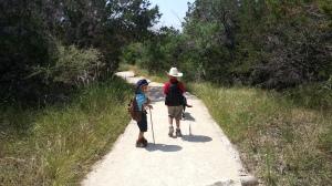 boys hiking on 7.04