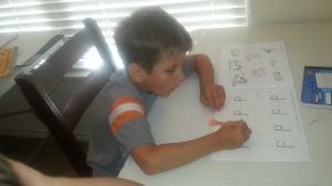 little school work