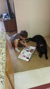 big reading to molly