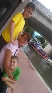 boys and mom 8.10.13
