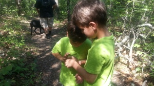 boys at nature center