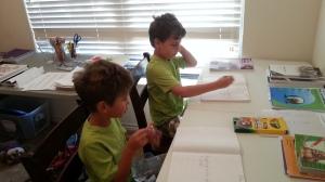 first day school work