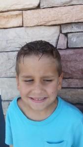 little hair cut