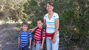 boys with mom 9.1.13
