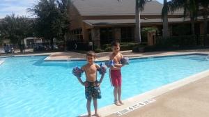 2 by pool