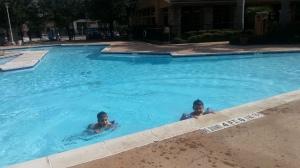 4 in pool