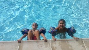 5 in pool again