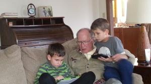 11.24.13 boys and grandpa
