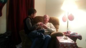 12.25.13 big and Grandpa