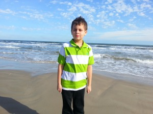 big on beach