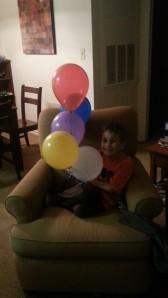 birthday ballons 10.28.13