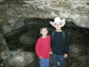 brothers in cave