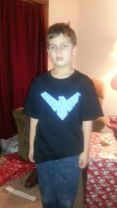 christmas night wing shirt