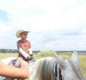 10.12 little on horse