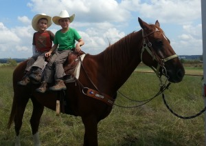 boys on horse 2