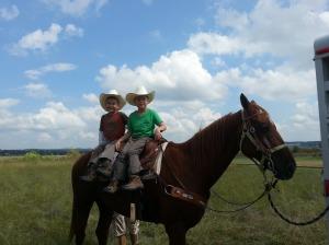 boys on horse