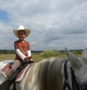 little on horse happy